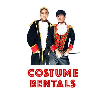 costume rentals