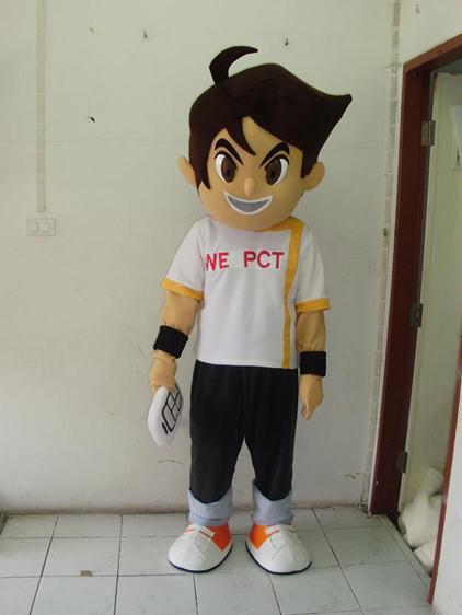 Boy Mascot
