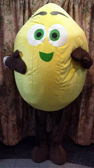 lime mascot