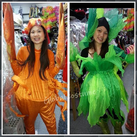 prawn costume