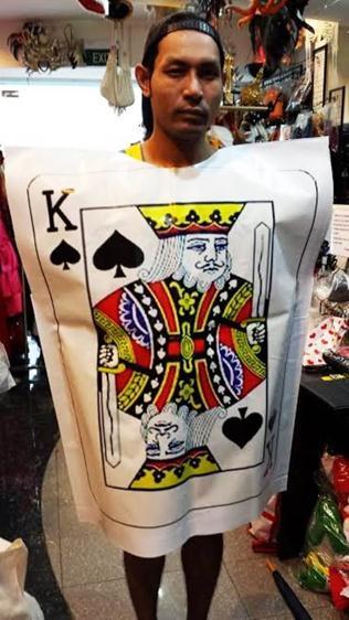 Card costume