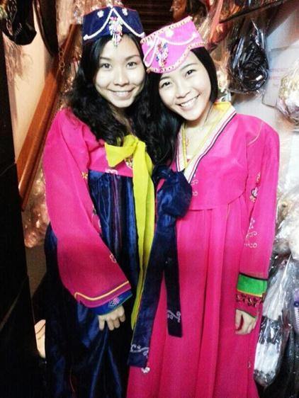 Hanbok Girl 1