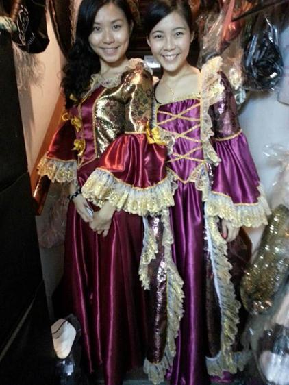 Marron purple queen
